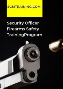 Training Programs | Security Guard Management