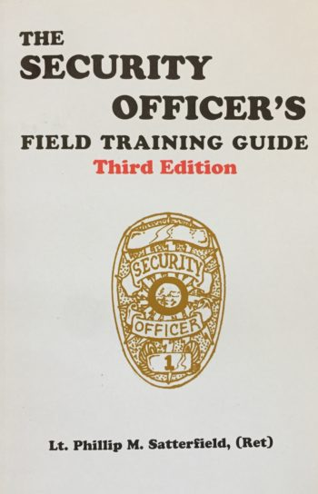 Security Officer Field Training Guide Book