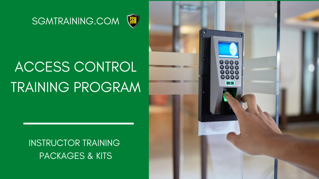 Access Control Training Program