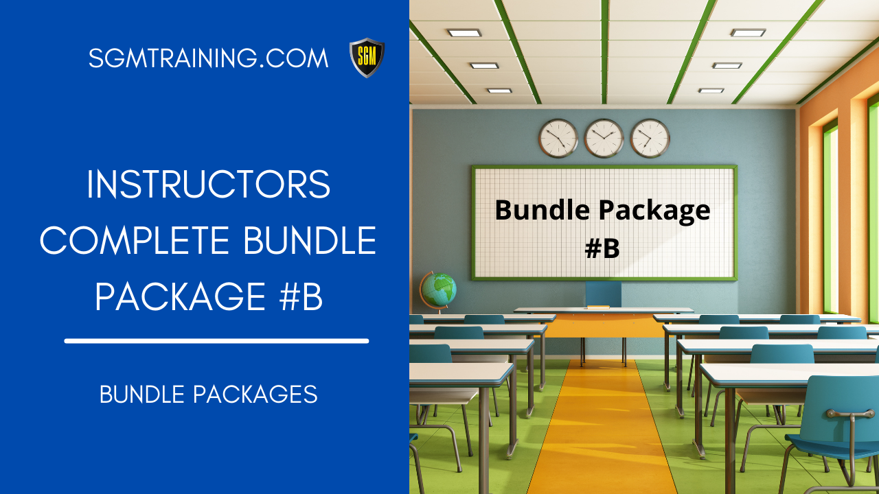 Instructors Training Package #B