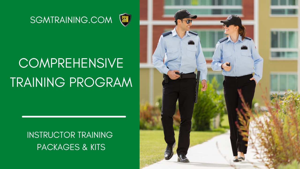 Comprehensive Training Program – Instructors Guide Book