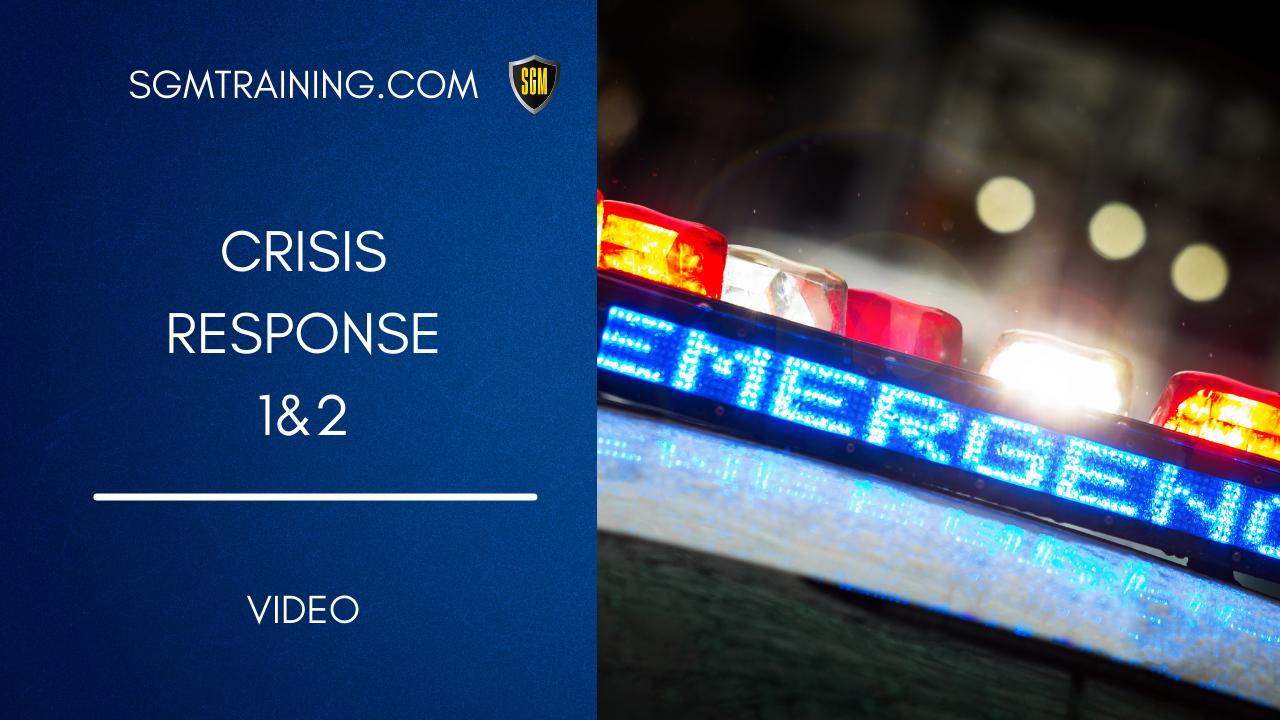 Crisis Response 1&2 DVD
