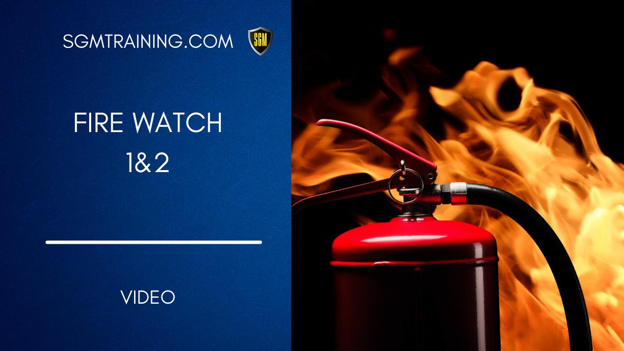 Fire Watch 1&2 DVD