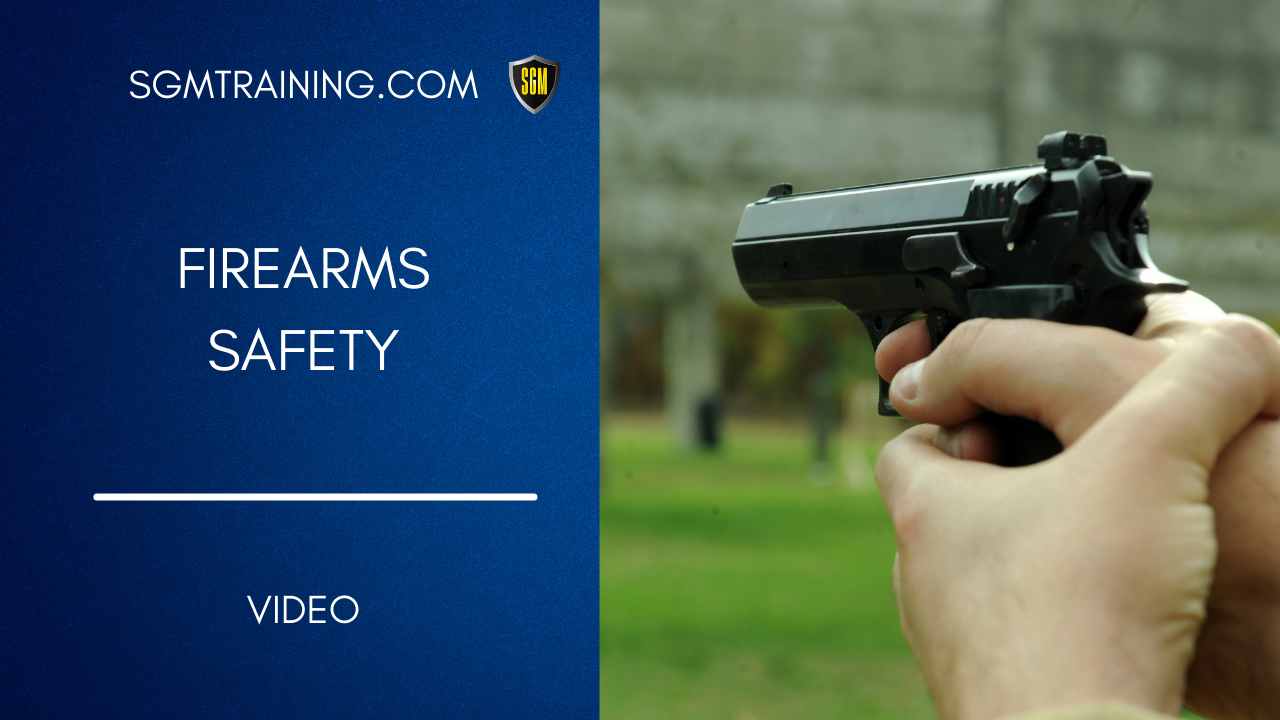 Firearms Safety DVD