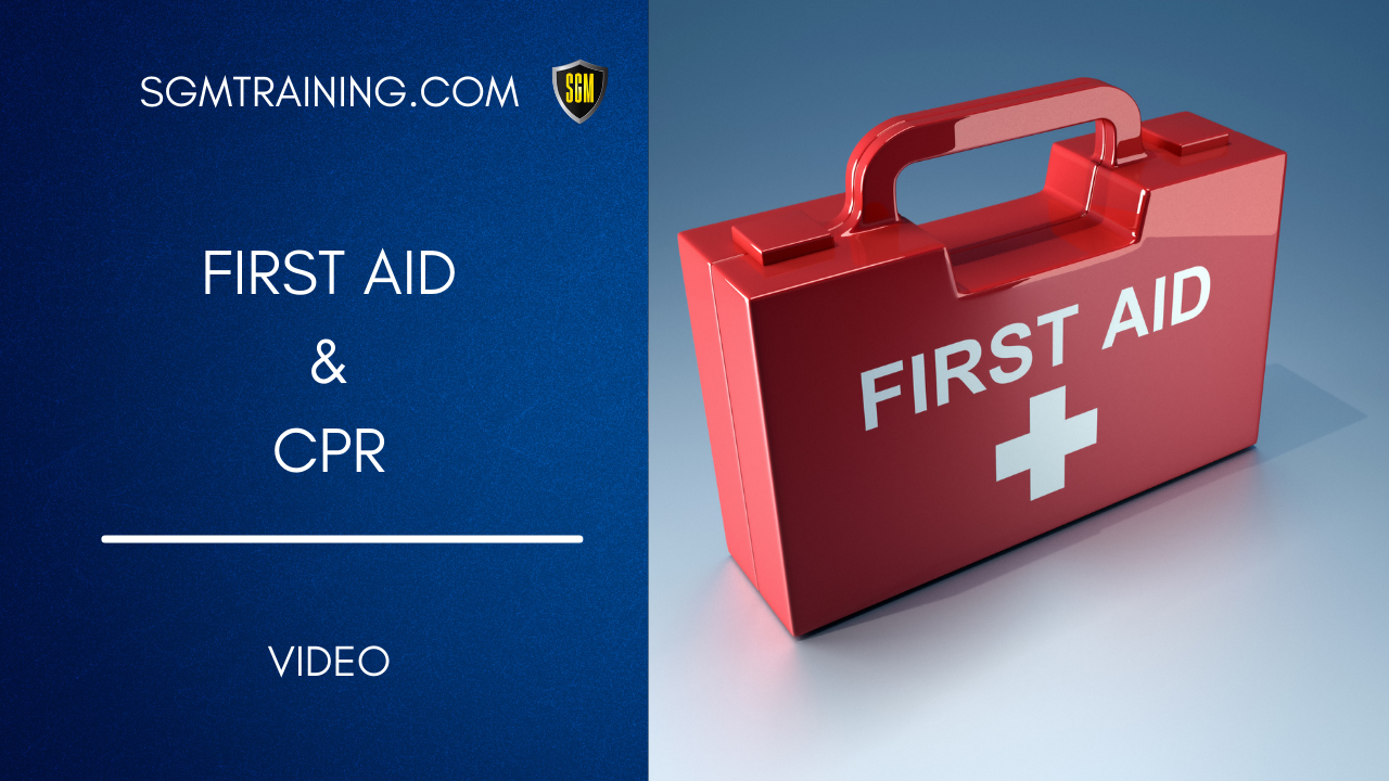 First Aid & CPR  DVD