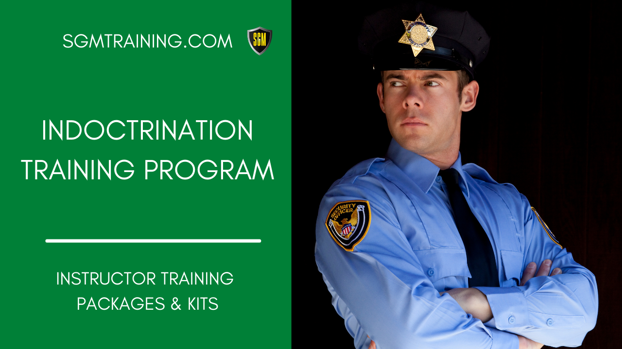 Indoctrination & Introduction Training Program