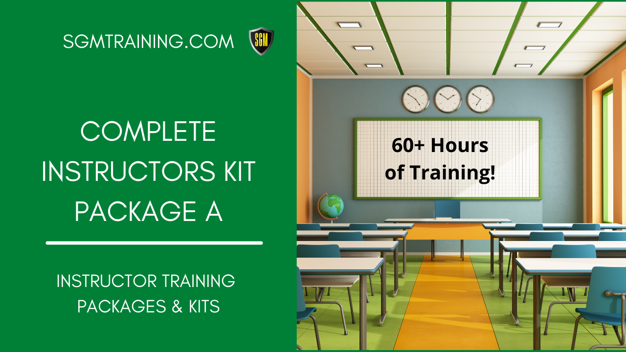 Instructors Complete Package #A