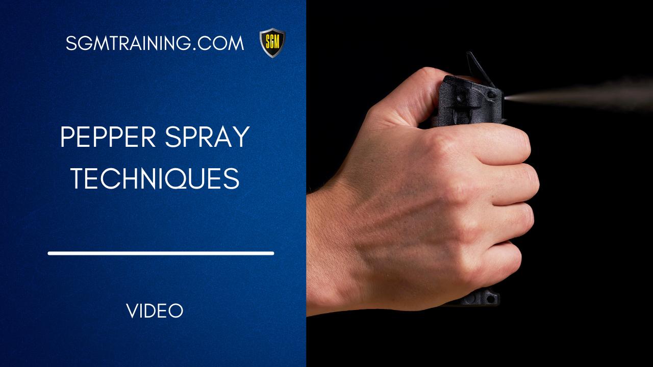 Pepper Spray DVD