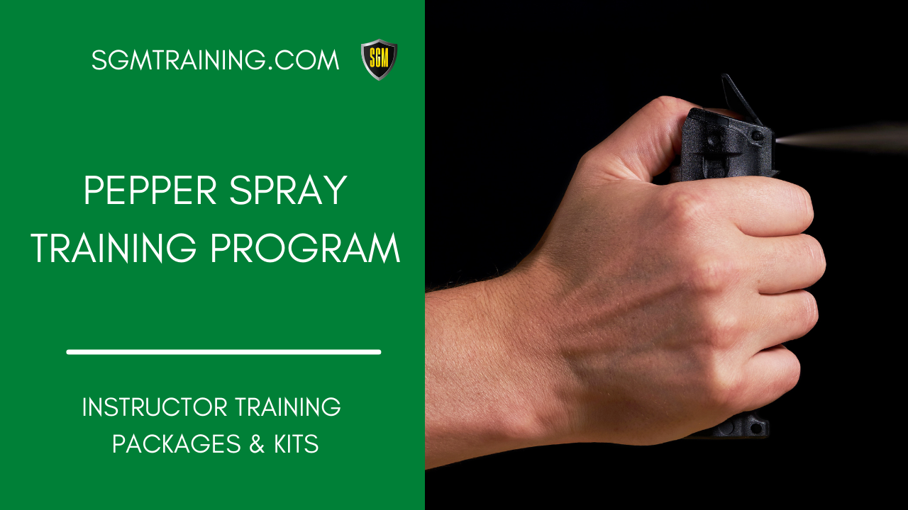 Pepper Spray Training Program