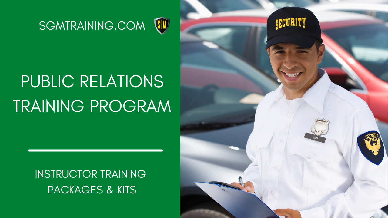 Public Relations Training Program
