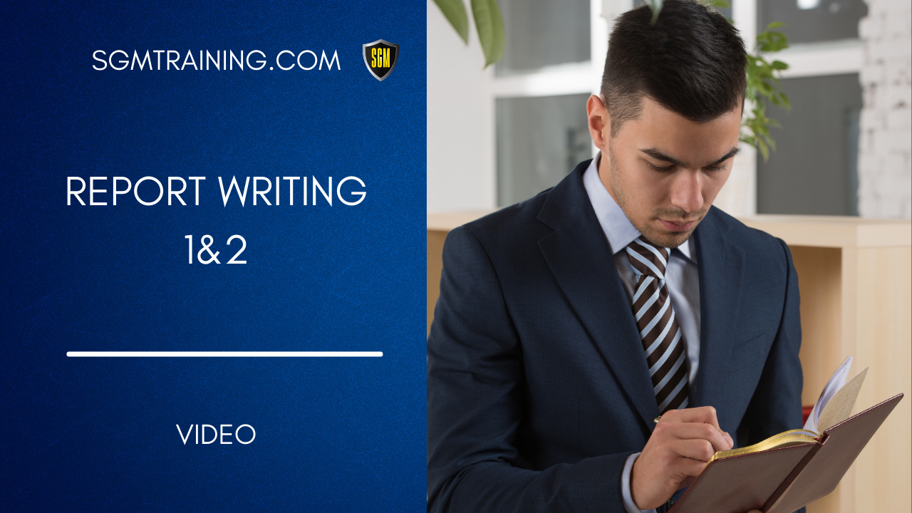 Report Writing 1&2 DVD