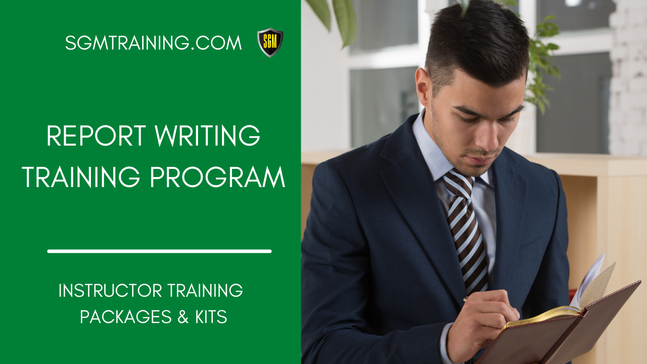 Report Writing Training Program