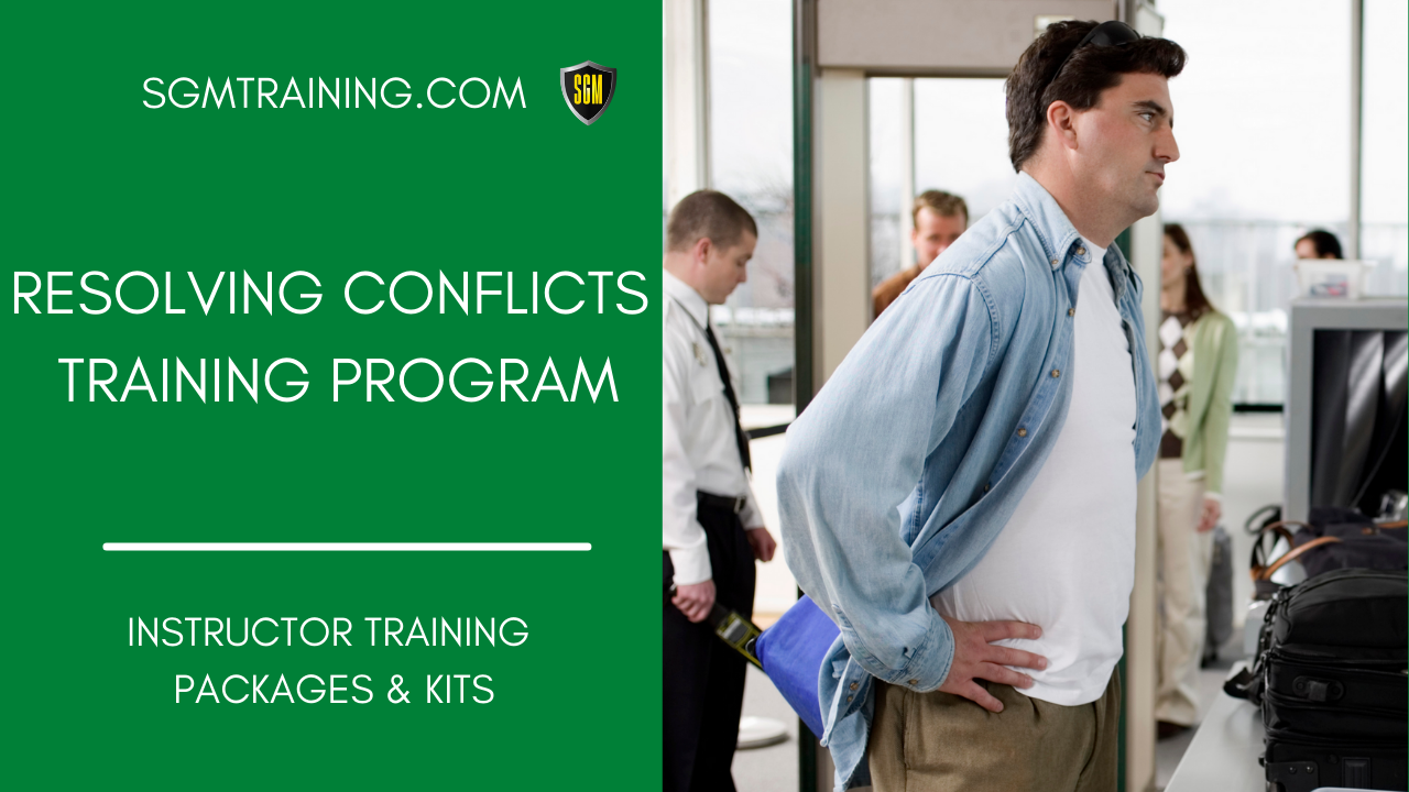 Resolving Conflicts Training Program