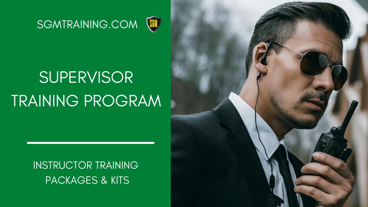 Supervisor Training Program