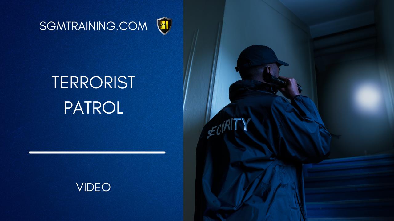 Terrorist Patrol DVD