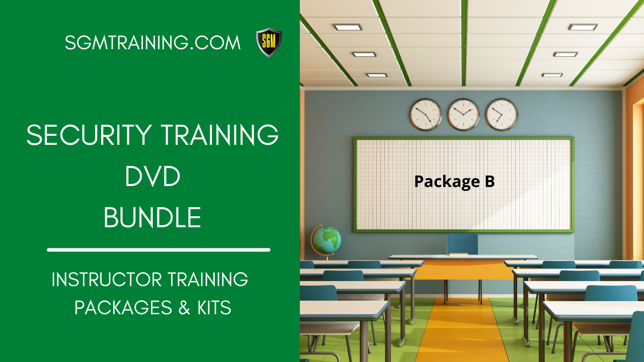 Instructors Training DVD Bundle - Package #B