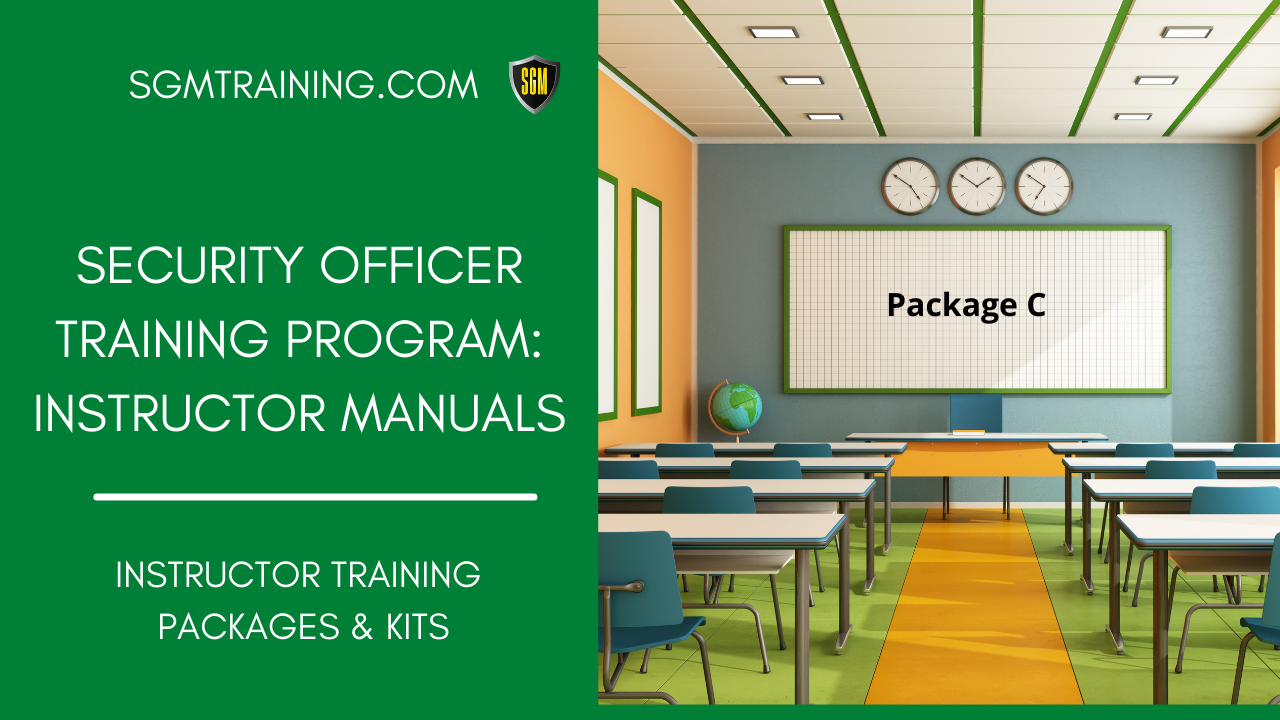 Instructors Training Package #C