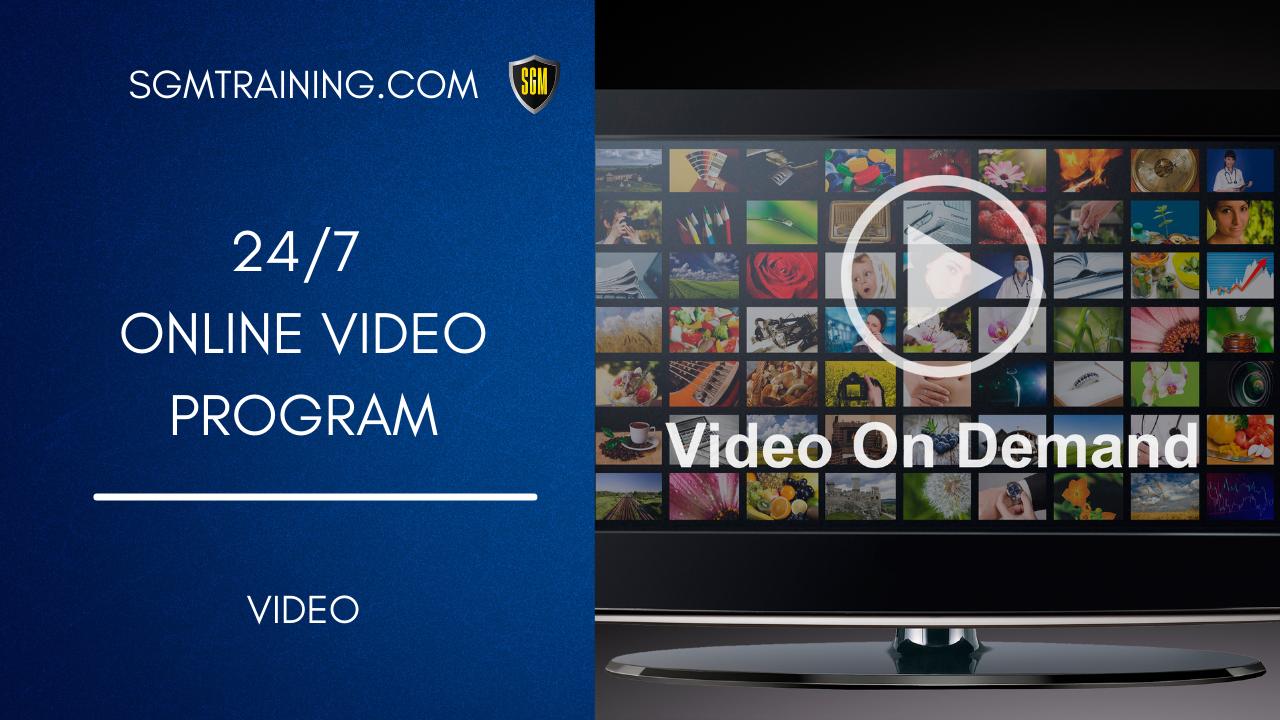 Online 24/7 Video Program