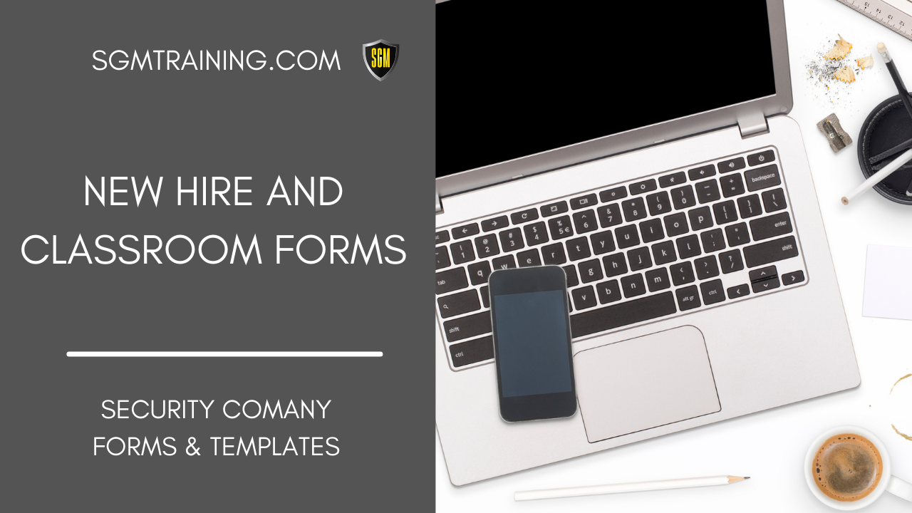New Hire & Classroom Forms Download