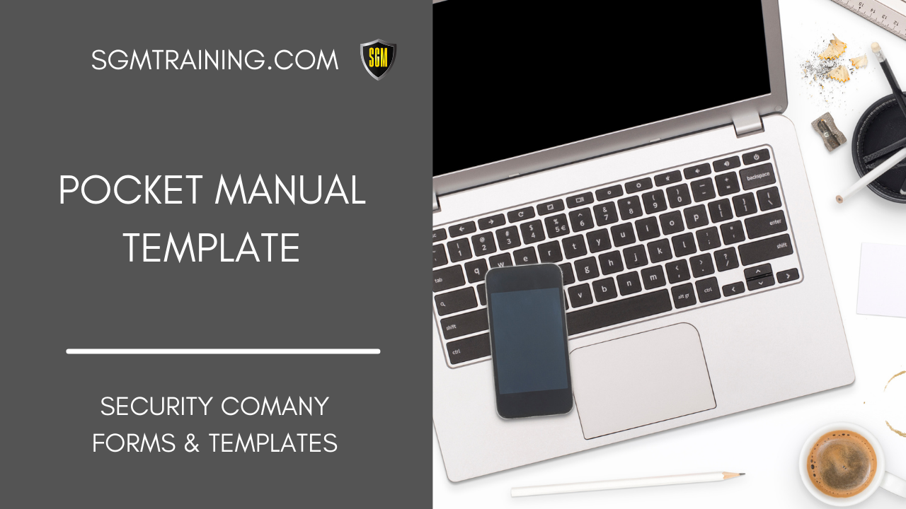 Security Officer Pocket Manual Template