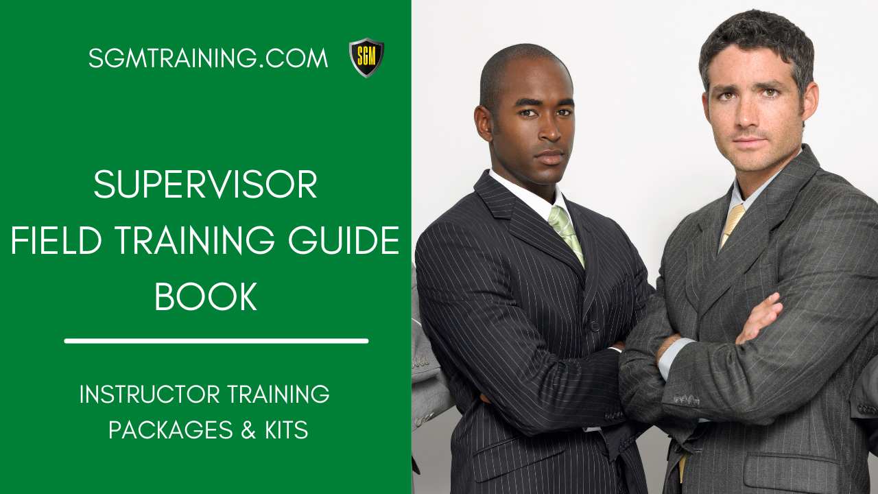 Supervisor Field Training Guide Book