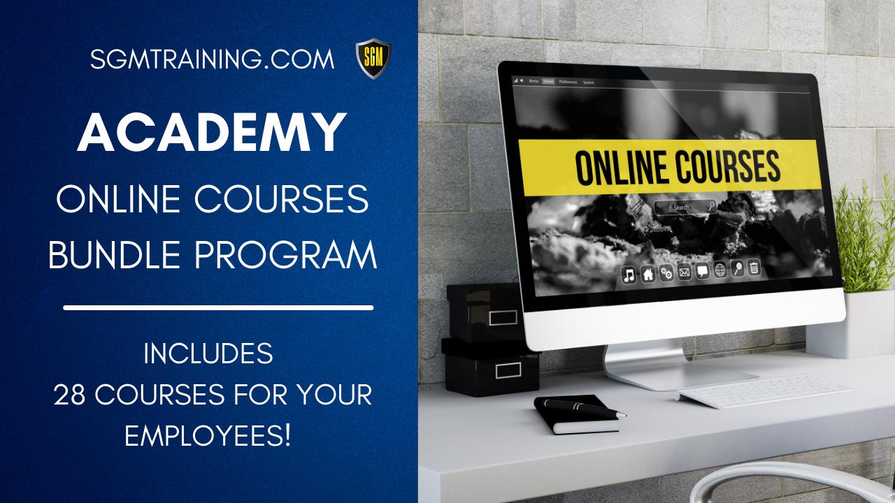 Academy Online Courses Program