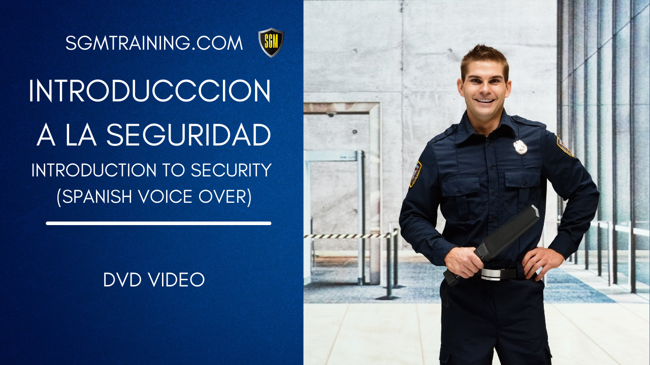 Spanish - Introduction to Security DVD