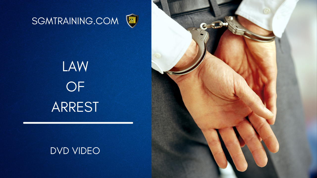 Law of Arrest DVD