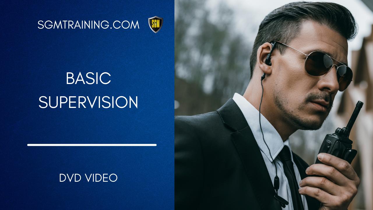 Supervisor - Basic Supervision DVD