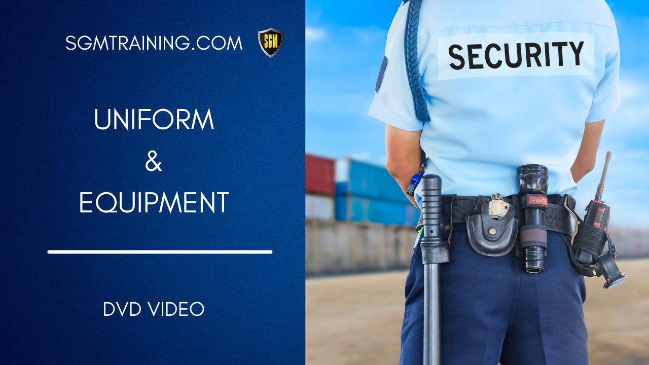 Uniform and Equipment DVD